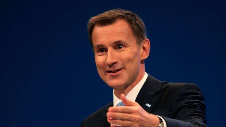 Jeremy Hunt, ministro de Asuntos Exteriores de Reino Unido.