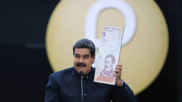 La reconversión monetaria en Venezuela costará más de 300 millones de dólares.