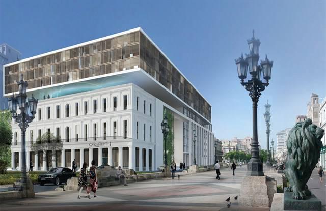 La inauguración del 'Iberostar Grand Packard' coincidirá con la celebración de los 500º Aniversario de la fundación de La Habana.