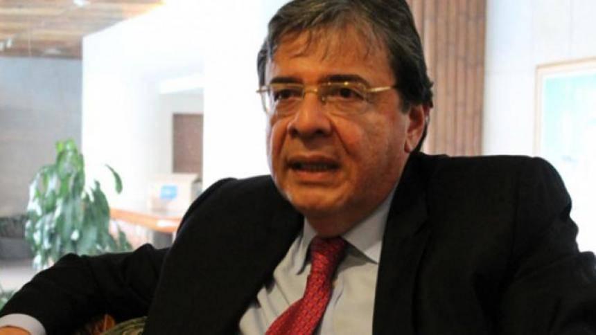 Carlos Holmes Trujillo, ministro de Relaciones Exteriores de Colombia.