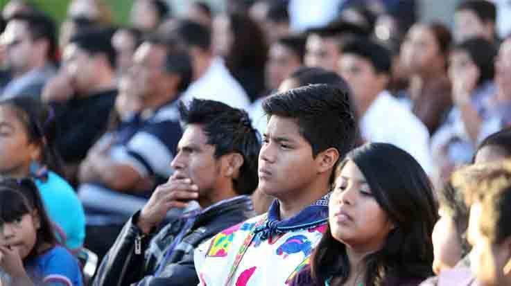 Los estudiantes indígenas sólo representan el 3 por ciento de matriculaciones en la universidades de México.