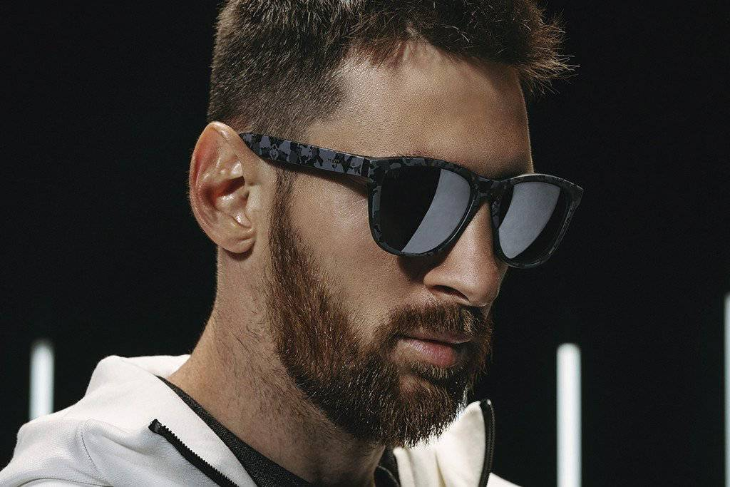 La nueva colección de gafas inspirada en Leo Messi contará con tres modelos.