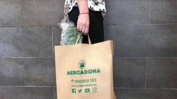 Mercadona ha sustituido en 66 de sus supermercados las bolsas plásticas por las de papel reciclado.