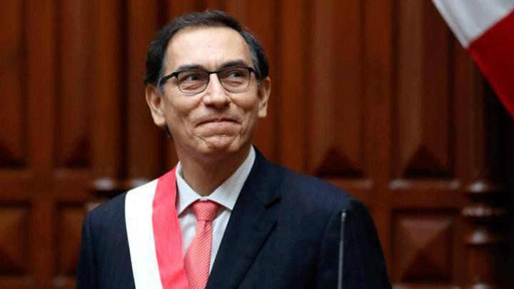 Martín Vizcarra, presidente de Perú.