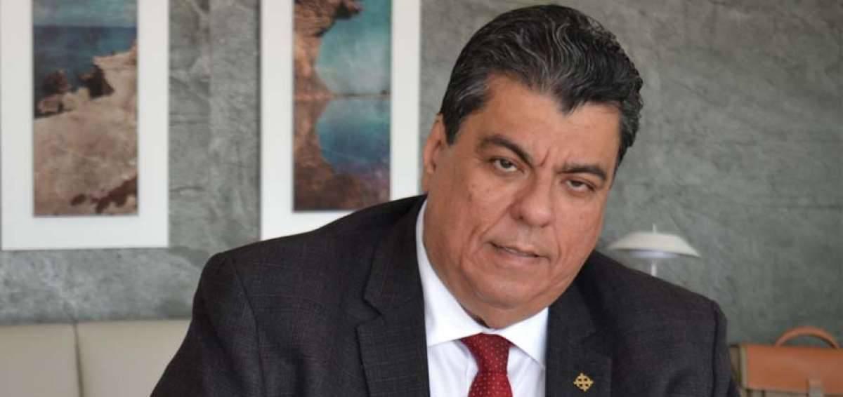 Mauro Toscanini, ministro del Interior ecuatoriano.