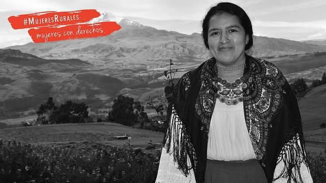 Imagen de la campaña '#MujeresRurales, mujeres con derechos'.