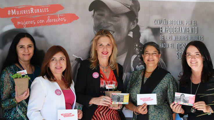 La campaña '#MujeresRurales, mujeres con derechos' busca impulsar la autonomía plena de las mujeres en el mundo rural en Latinoamérica.