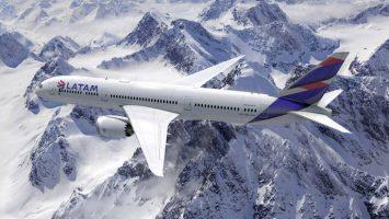 La aerolínea LATAM ha transportado a 38,9 millones de pasajeros entre enero y julio de 2018, un 2,3 por ciento más que en el mismo período en 2017.