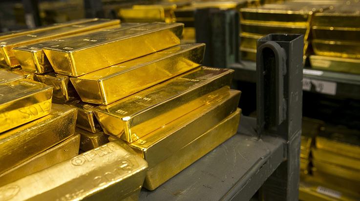 La venta de los lingotes de oro busca hacer frente a la hiperinflación.