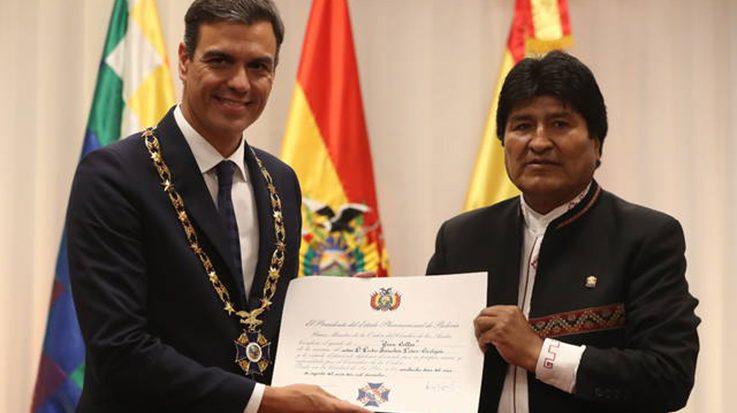 Pedro Sánchez abre la puerta para las inversiones españolas en el megaproyecto del tren Bioceánico.