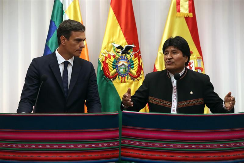 El presidente de Bolivia ha prometido que cualquier inversión española está garantizada en el país latinoamericano.