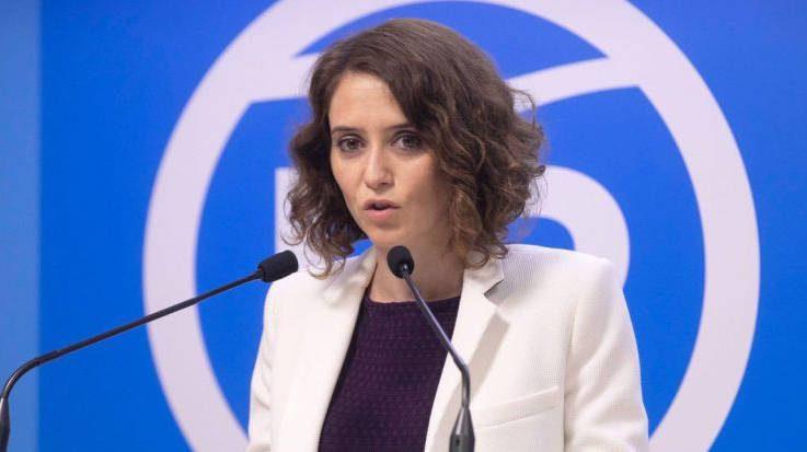 Isabel Díaz Ayuso, vicesecretaria de Comunicación del PP de Madrid.
