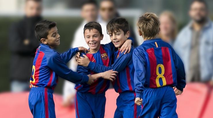 La escuela se suma a las 44  Barça Academy  que están repartidas por el 097d4cf29aa