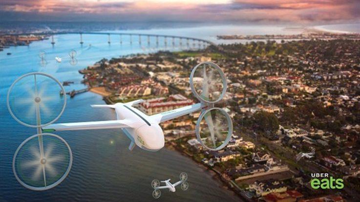 Uber estudia cinco países para elegir en cuál desarrollará su proyecto de coches voladores 'Uber Air'.