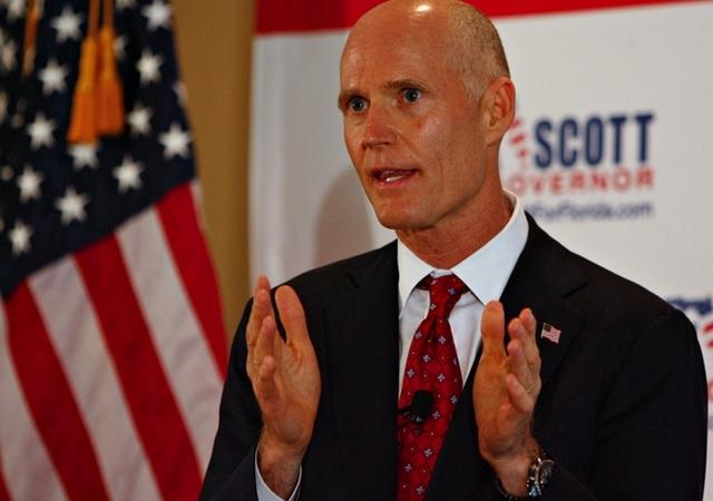El Gobernador de Florida, Rick Scott, afirma que apoyará la medida de llegar a senador.