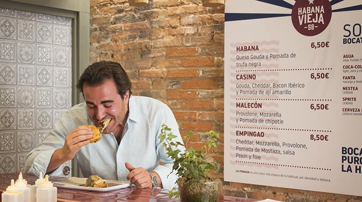 El emprendedor asegura que Habana Vieja 58 es un ambicioso plan, por lo que tienen pensado abrir entre 30 y 40 locales en toda España.