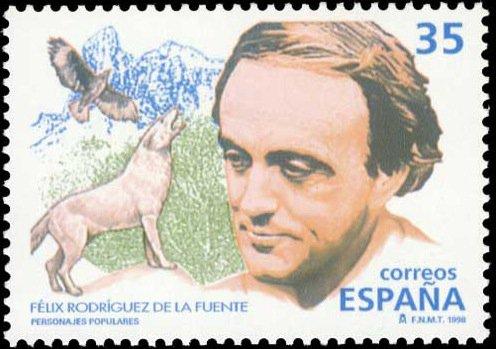 La tarjeta de Félix Rodríguez de la Fuente se emitirá el próximo 10 de septiembre.