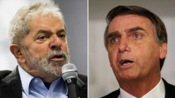 El candidato Jair Bolsonaro figura como favorito para las elecciones presidenciales de Brasil.