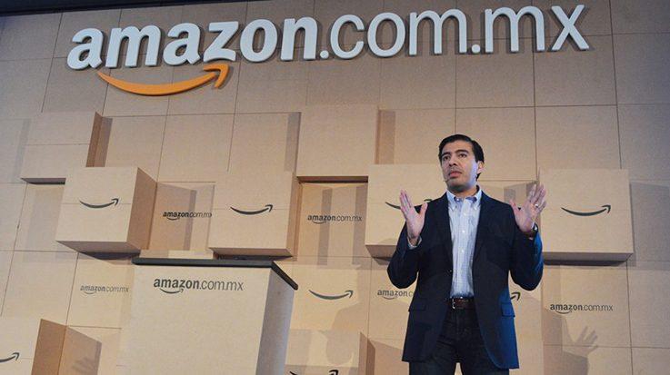 Amazon venderá bebidas y alimentos no perecederos para competir con Walmart.