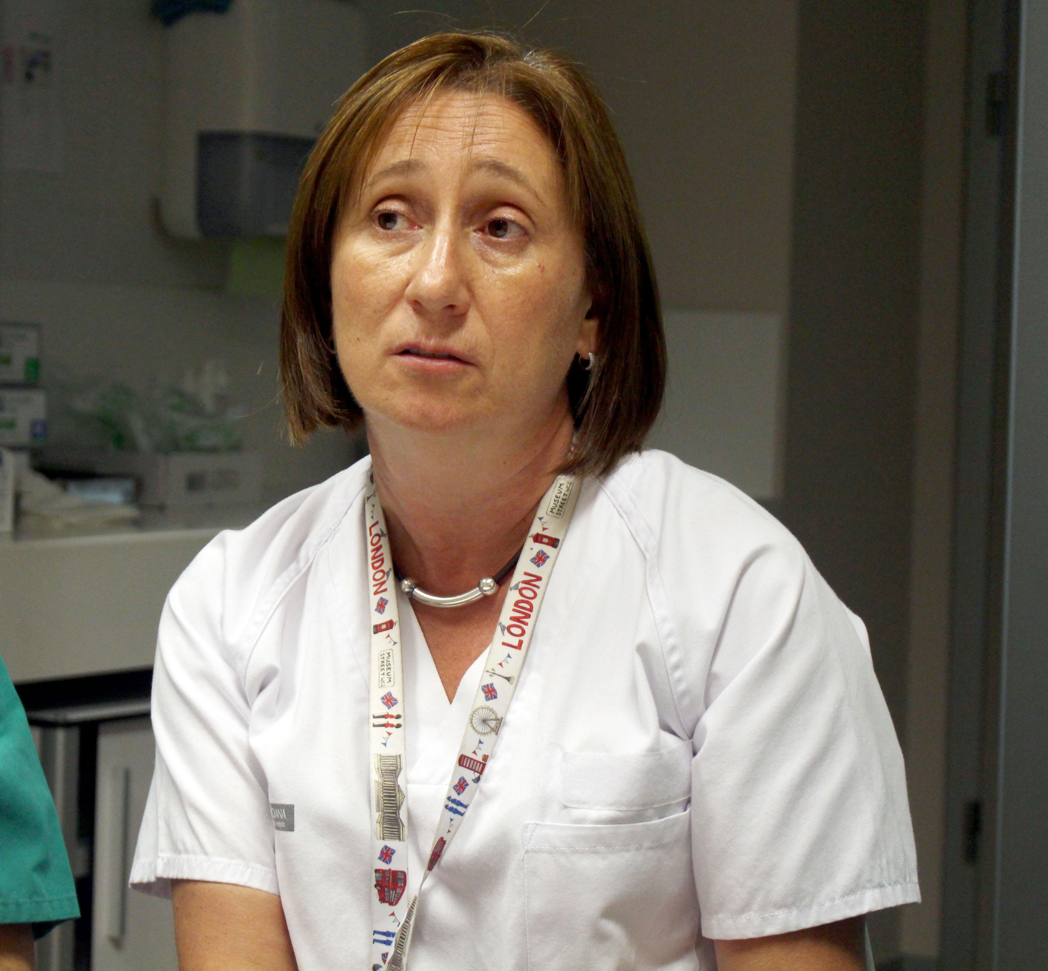 Patricia Polo Sánchez, tutora de residentes del área de Obstetricia y Ginecología del Hospital Universitario y Politécnico de La Fe.