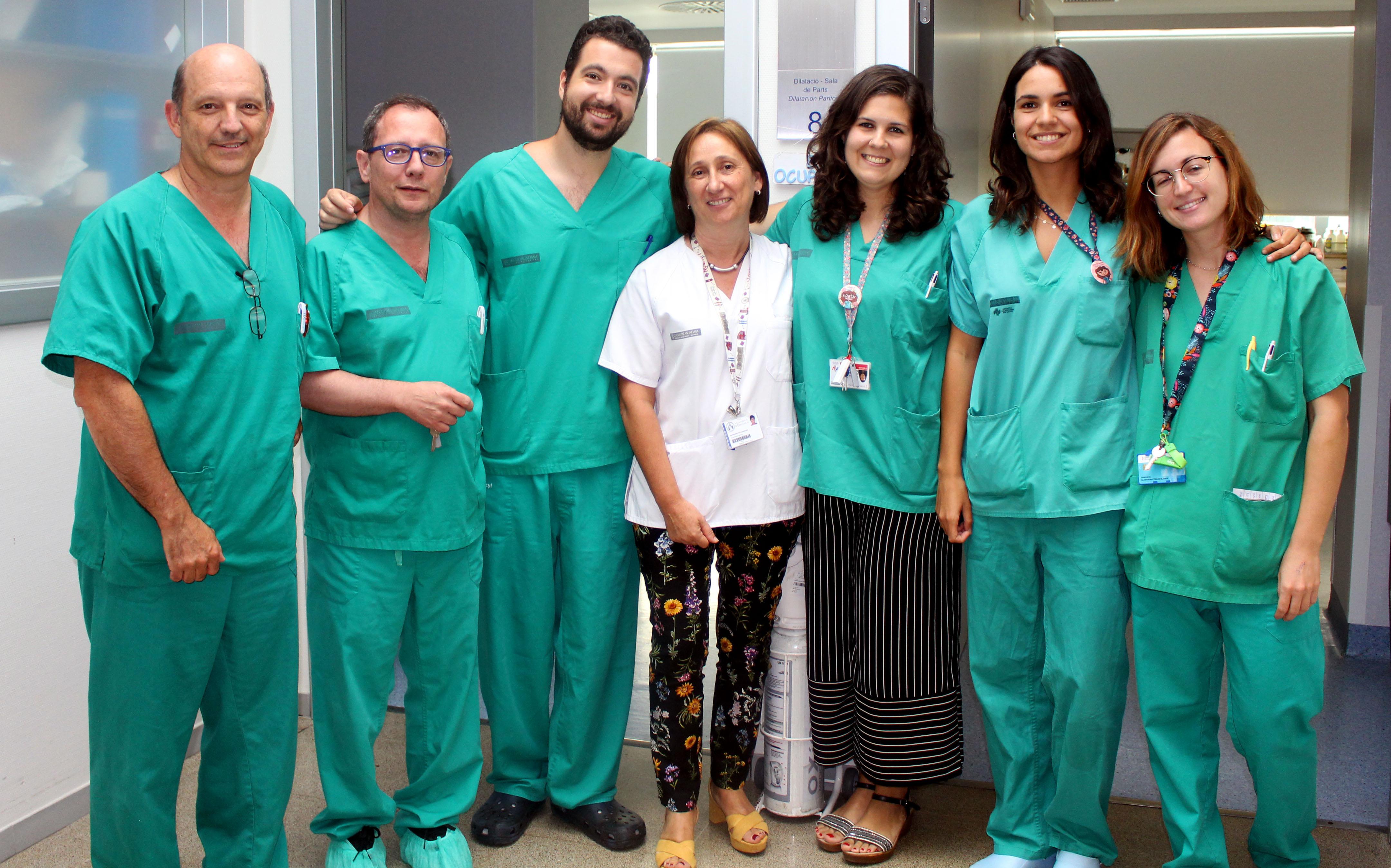 Servicio de Obstetricia y Ginecología del Hospital Universitario y Politécnico de La Fe.