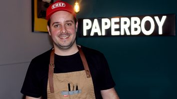 Alfonso Bortone, fundador de Paperboy.