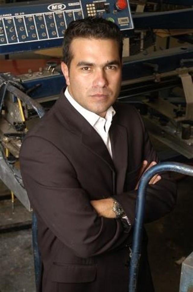 Juan Aristizábal, responsable de la firma de ropa de la cantante y actriz Jennifer López.
