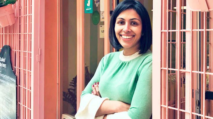 Azmina Khanbhai, fundadora de 'Lolos'.