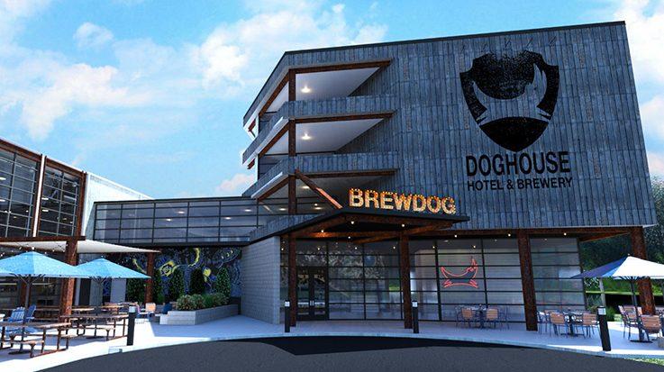 The Doghouse es el primer hotel del mundo con caudales de cerveza.