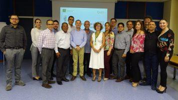 Médicos colombianos inician pasantías en Gestión de Servicios Asistenciales, coordinada por la Escuela Andaluza de Salud Pública.