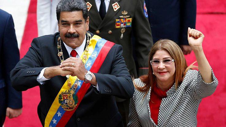 EEUU impone sanciones a la primera dama de Venezuela, Cilia Flores.