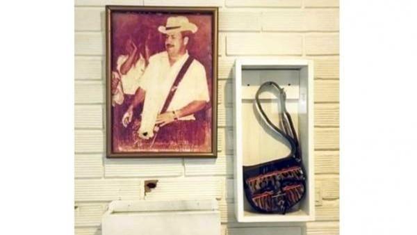 El museo en honor a el capo era administrado por su hermano Roberto, alias 'El Osito'.