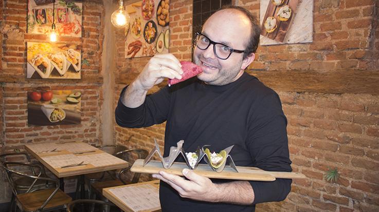'Embalados' es una propuesta culinaria que Ignacio venía preparando en paralelo a su trabajo en 'Goiko Grill'.