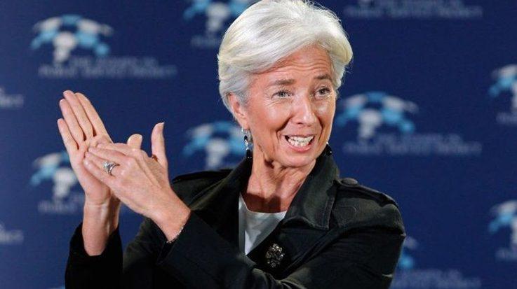 Christine Lagarde, presidenta del Fondo Monetario Internacional (FMI).