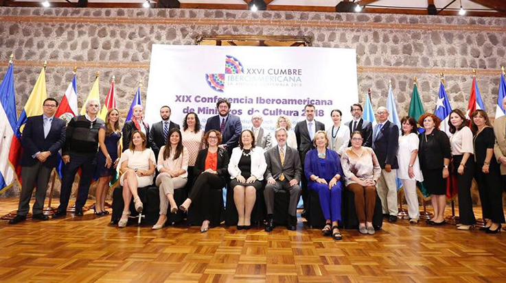 XXVI Conferencia Iberoamericana de Ministros y Ministras de Educación, desarrollada en Guatemala.