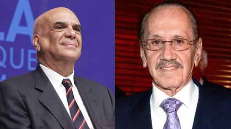 Jorge Alberto Lozoya Legorreta y José Antonio Moreno Ruffinelli.