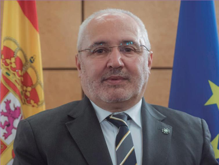 Ángel García Collantes, decano del Colegio Profesional de Criminólogos de Madrid.