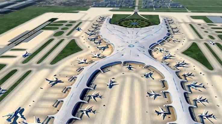 Andrés Manuel López Obrador está a favor de continuar con la construcción del Nuevo Aeropuerto de México, si se hace mediante la inversión privada.