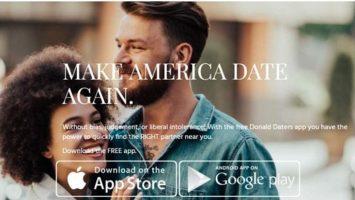 'DonaldDaters', la aplicación diseñada para que los fans de Donald Trump puedan conocerse y enamorarse.