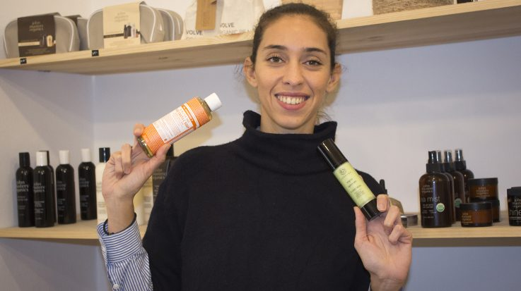 Sophie Rinaldi, fundadora de la tienda de cosmética natural Kōsui.