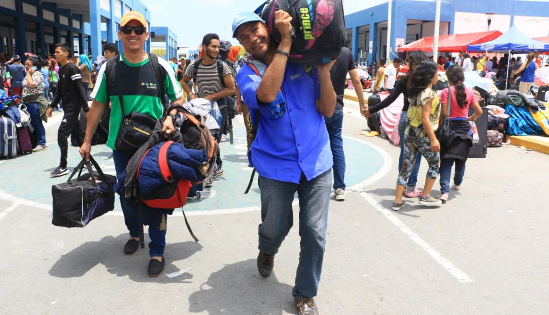 Las autoridades estiman la llegada de unos 4.000 venezolanos este 31 de octubre.