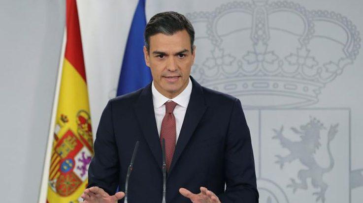 """El presidente Pedro Sánchez modificará la ley para que """"los españoles no paguen más nunca el impuesto de las hipotecas""""."""