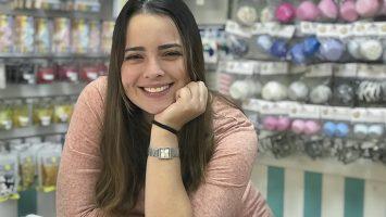 Daniela Páez, propietaria de Cake Shop.