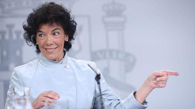 Isabel Celaá, ministra de Educación y Formación Profesional.