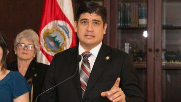 Carlos Alvarado Quesada, presidente de Costa Rica.
