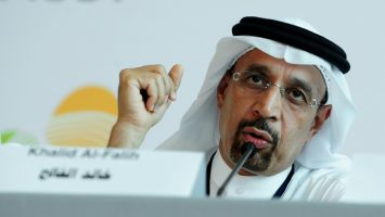 Jaled Al Faleh, ministro de Energía de Arabia Saudí.