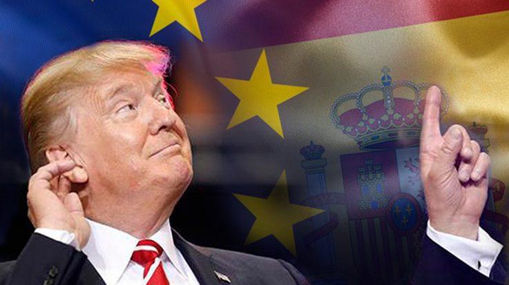 El presidente de EEUU está acelerando la inversión de empresarios en España, gracias a su discurso radical y racista.