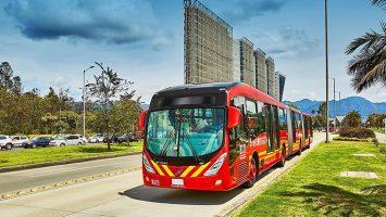 Bogotá incorporará 700 autobuses de Volvo al sistema BRT a partir de marzo del 2019.