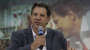 Fernando Haddad, excandidato presidencial brasileño.