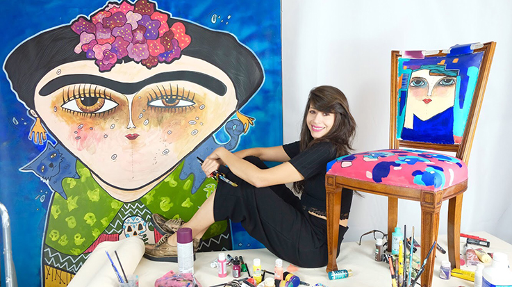 Vanessa destaca por comercializar, junto a sus piezas físicas, un respaldo virtual que permite contar con una lectura más completa de cada una de sus creaciones.